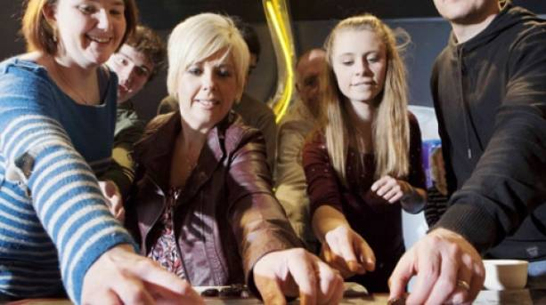 A chocolate tasting session at York's Chocolate Story