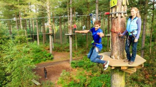 Kids days out at Go Ape