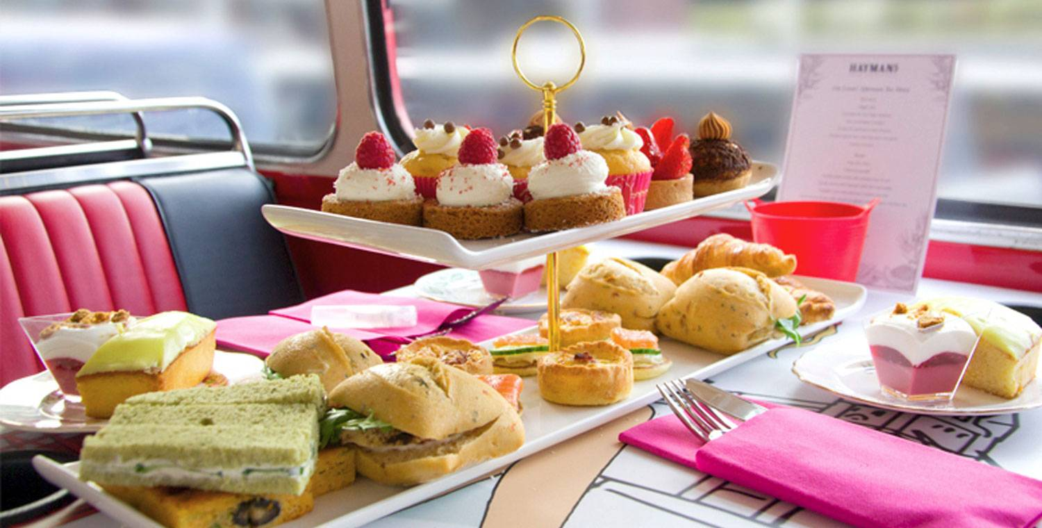 Gin Lovers Afternoon Tea Bus Tour of London