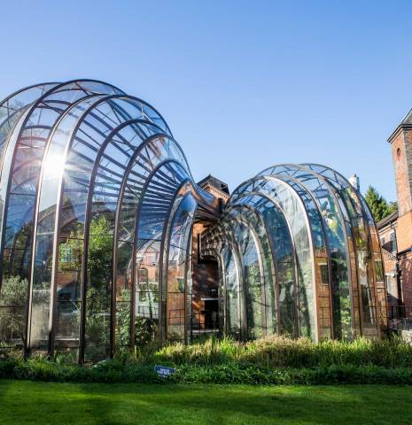 The Bombay Sapphire distillery in Hampshire, England.