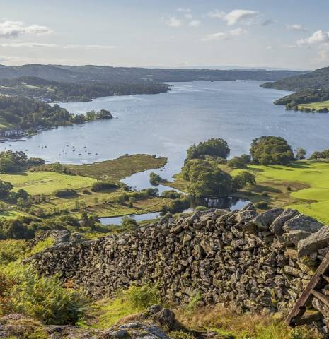 Windermere in the English Lake District, Cumbria, England