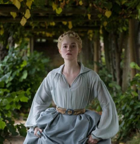 Catherine The Great running in garden