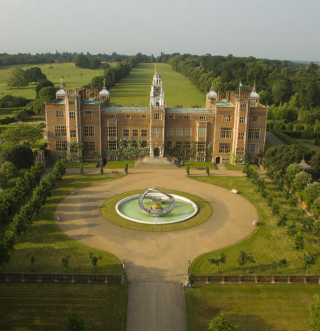 Hatfield House, a filming location for many Oscar winning films.
