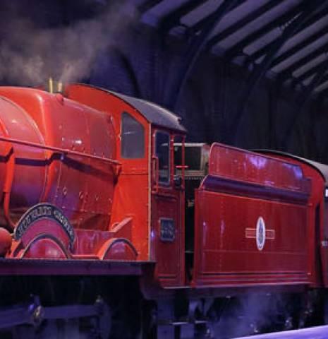 Hogworths Express at Harry Potter World