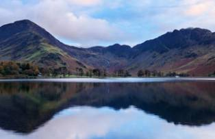 Buttermere at dawn, in the Lake District National Park