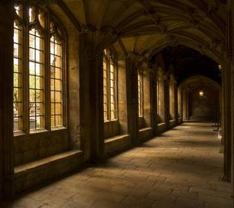 Christ Church College Harry Potter location