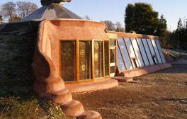 Be inspired by the Earthship Brighton