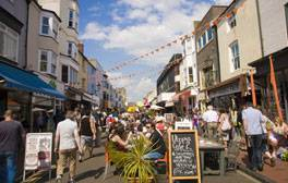 Discover the Lanes and North Laine
