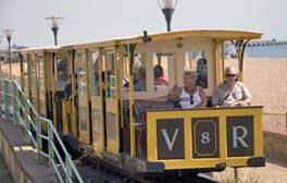 Take a ride on a Victorian electric railway