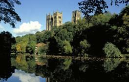 La torre de la catedral de Durham