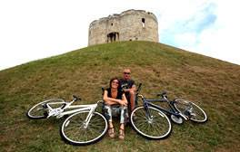 Explore the city of York by bike