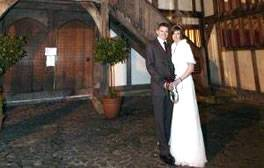 Have the perfect medieval themed wedding at Barley Hall