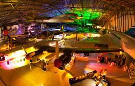 Überflieger im Imperial War Museum in Duxford