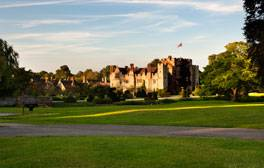 A Tudor experience at Hever Castle