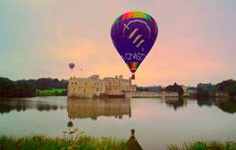 Hold a reception on a moat at Leeds Castle