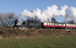 Experience steam age travel on the Nene Valley Railway
