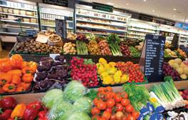 Food lovers' heaven at The Hollies Farm Shop