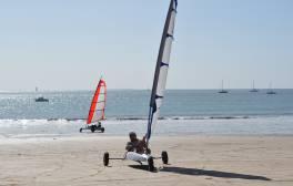 Lernen Sie Strandsegeln in Kent