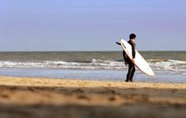 Leçon de surf dans le North Devon