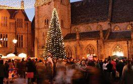 Enjoy a city Christmas festival with a difference