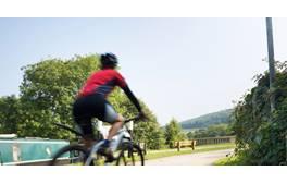 Scenic cycling around Bath