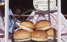 Taste for yourself the famous Sally Lunn's Buns