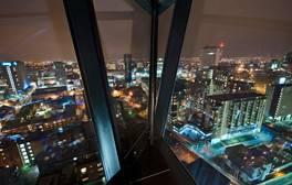 Enjoy a 360-degree Champagne view of Birmingham