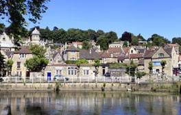 Enjoy a relaxing break in the Saxon town of Bradford on Avon