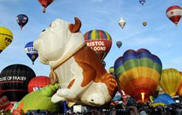 Ballons in Bristol