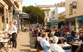 Georgian architecture and modern shopping on Bristol's edge