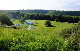 Get into green camping in the Cotswolds
