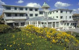 Luxurious weekend breaks at Burgh Island Hotel