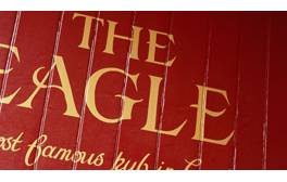 Ponder the secret to life at Crick and Watson's pub, The Eagle