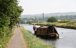 Go barging round Lancashire