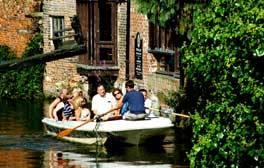 Drift along on a Canterbury Historic River Tour