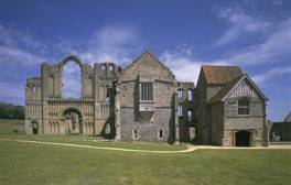 Delve into Norman and Cluniac history at Castle Acre