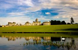 Go camping in the grounds of one of England's finest stately homes