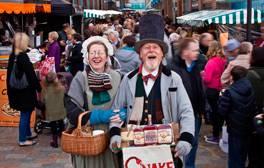 Soak up the fun at Gloucester Quays' Victorian Christmas Market