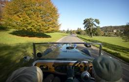 Drive through the Lake District in a classic car