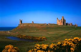 Witness Northumberland's violent history at its coastal castles