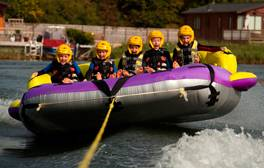 Don't be afraid to make a splash at Cotswold Water Park