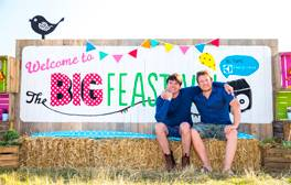 Enjoy top-class music and haute cuisine at the Big Feastival