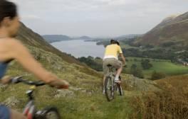 De costa a costa en bicicleta