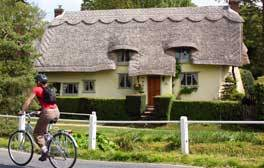 Enjoy the sights of picture perfect villages by bike