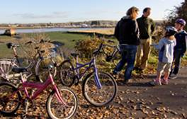 Embark on a beginners cycle tour on The Red Squirrel Trail
