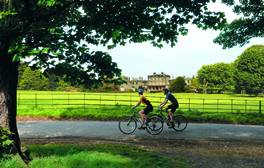 Experience gentle bike rides and outstanding natural beauty