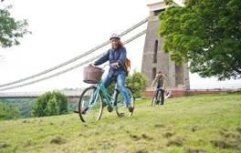 Cycle Bristol's Clifton Suspension Bridge on a free tour