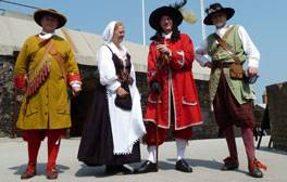 Gruesome goings on at Landguard Fort