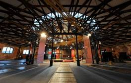 Sit back and enjoy a Roundhouse Tour of Derby