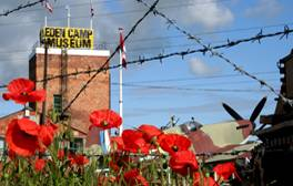 Relive the sights and sounds of wartime Britain at Eden Camp